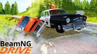 Погоня за Нарушителем - BeamNG.Drive