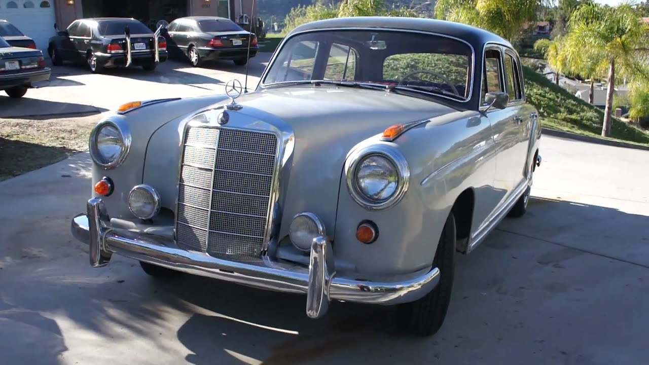 1959 mercedes benz 220s w105 w180 ponton w128 investment. Black Bedroom Furniture Sets. Home Design Ideas