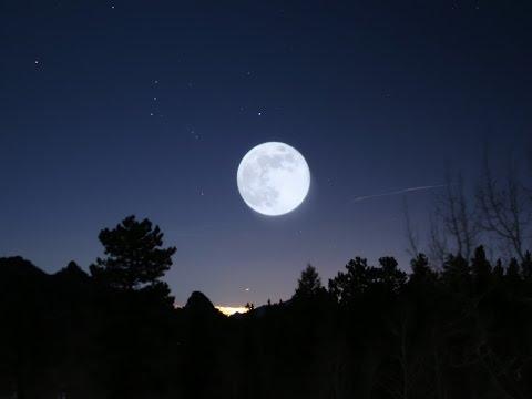 Интересное # 1- Как фотографировать,Полную луну? Урок