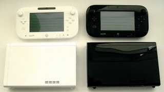 White vs Black Wii U (Basic Set vs Deluxe Set)