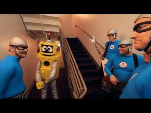 The Aquabats! in Yo Gabba Gabba  skit