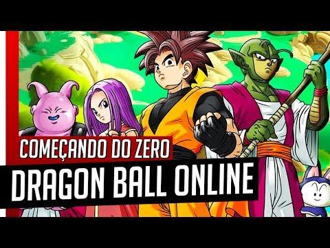 Dragon Ball Online - CONHEÇA O JOGO - Começando Do ZERO!