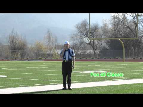 Fox 40 Classic | football referee whistle demo