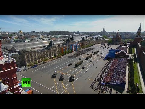 Victory Day parade kicks off on the Red Square in Moscow