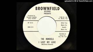 The Rondels - I Lost My Love (Brownfield 33) YouTube Videos