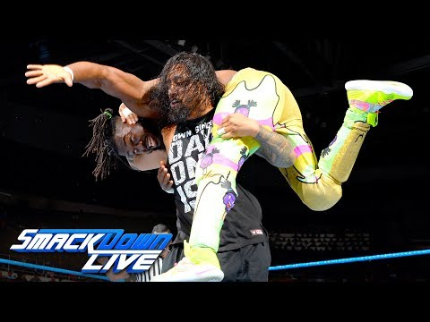 The New Day vs. The Usos: SmackDown LIVE, Aug. 15, 2017