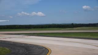 ワシントンDC ダレス国際空港への着陸(Landing to Washington Dulles International Airport)