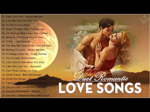 James Ingram, Peabo Bryson, David Foster, Sergio Mendes 💖 Duets Songs Male and Female 💖