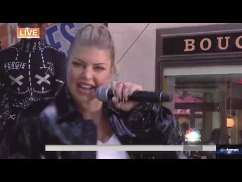 Fergie   |    You Already Know (Live On Today Show, September 22, 2017)