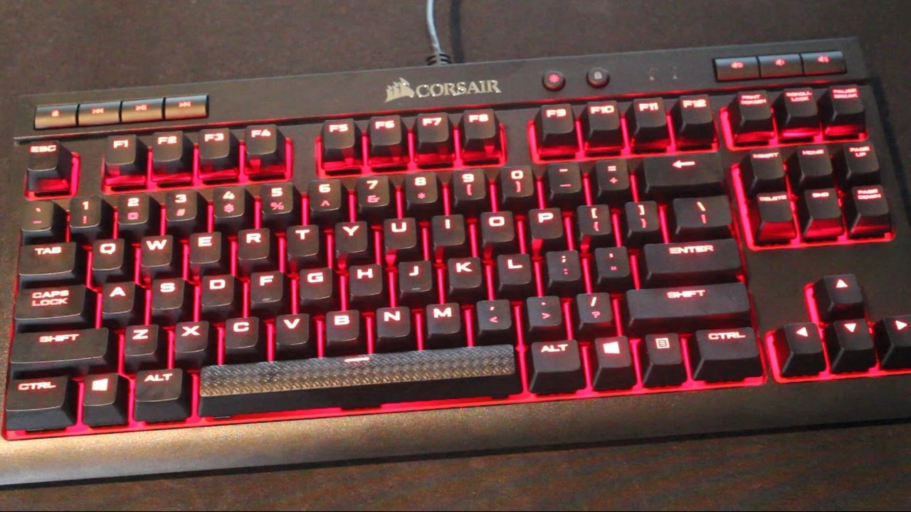 bcd1488c8b4 Corsair K63 Compact Mechanical Keyboard Review - YouTube