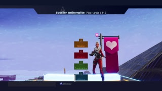 (Live/PS4/FR) Fortnite save the world go test the new world (Go the 1.3k subscriber)!!!