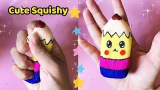 Làm Squishy Bút Chì dễ thương - How to make pencil Squishy