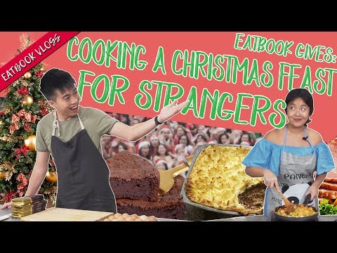 EATBOOK GIVES: Cooking A Christmas Feast For Strangers! | Eatbook Vlogs  | EP 84