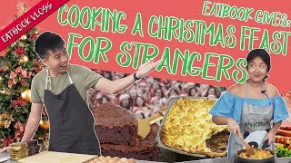 Eatbook Gives: Cooking A Christmas Feast For Strangers!   Eatbook Vlogs   EP 51
