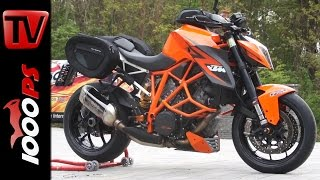 KTM 1290 SuperDuke R Tourer Umbau mit SW-Motech Teilen