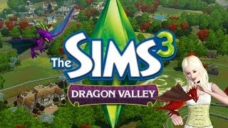 Dragon Valley (Gold Edition) & the Baby Dragons from The Sims 3 Store!