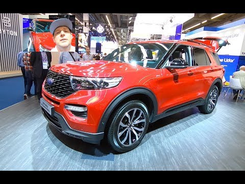 FORD EXPLORER ST-LINE ALL NEW MODEL 2019 PLUG IN HYBRID 4WD SUV WALKAROUND AND INTERIOR