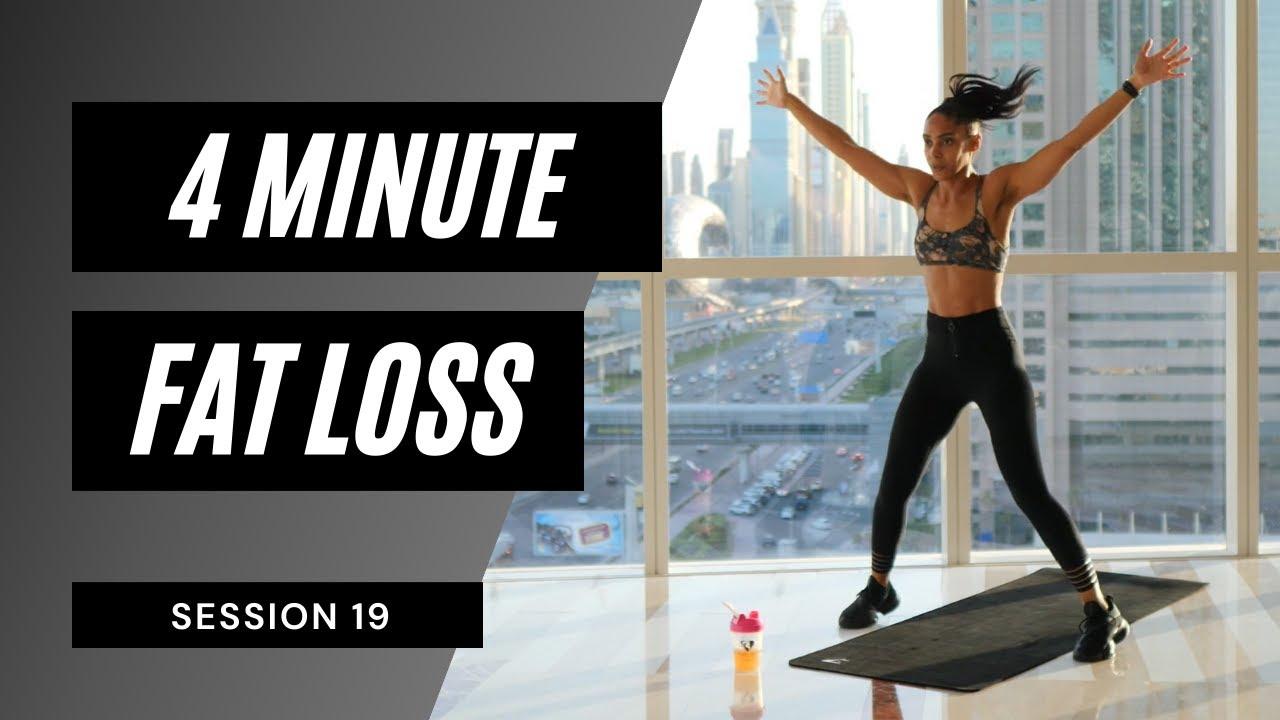 Super Sweaty FAT BURN - Tabata Cardio Workout | 4 min ONLY 🔥