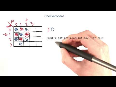 Checkerboard - Intro to Java Programming
