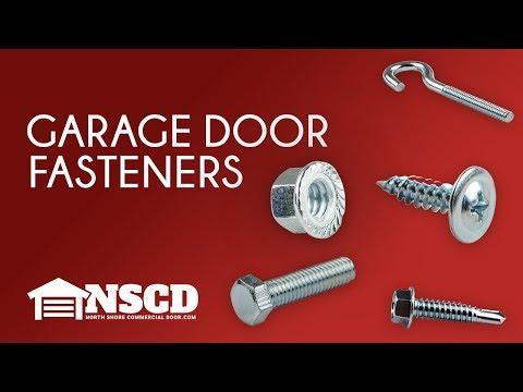Garage Door Fasteners by North Shore Commercial Door