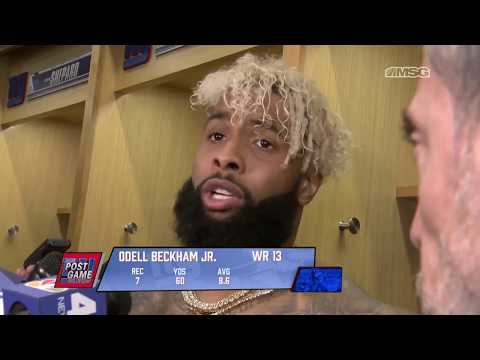 Odell Beckham Jr. Frustrated After Giants Week 4 Loss To Saints