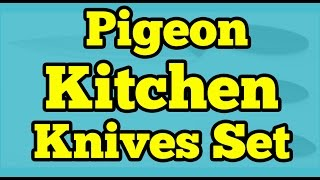 Pigeon Kitchen Knives Set 3 Pieces || Unboxing