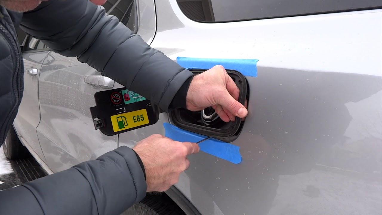 fuel door repair on dodge durango jeep grand cherokee [ 1280 x 720 Pixel ]