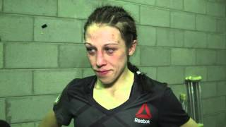 UFC 193: Joanna Jedrzejczyk Backstage Interview