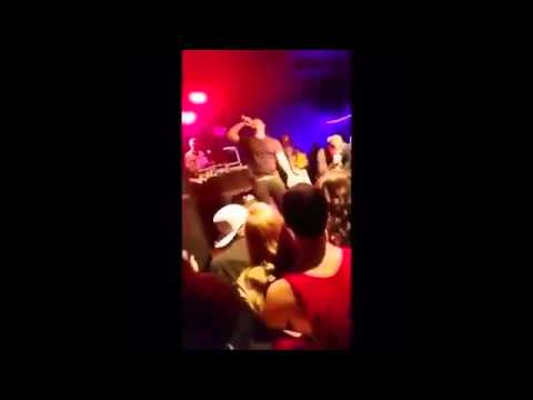 Rapper Stiches Gets Punched In Stomach By Fan Bodyguard Gets Destroyed