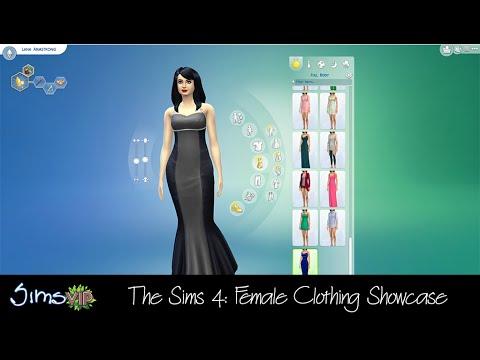 The Sims 4: Female Clothing Showcase