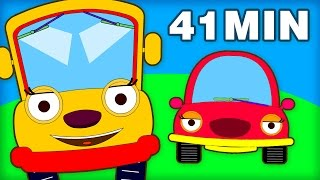 Wheels On The Bus NEW VERSION | And Many More Nursery Rhymes for Children by Teehee Town