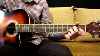 Lumen - Прости - Как играть на гитаре - Легкий Видео урок.