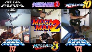 Mega Man - Stage Select Medley(Ft.94Stones,bboynoe,n00bje,0ZeroDL,BlackearacheXD)