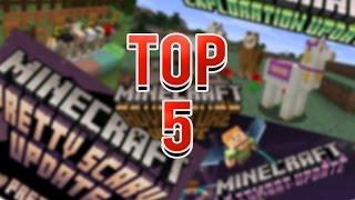 TOP 5 MEJORES VERSIONES DE MINECRAFT PC