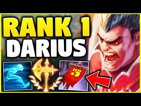 WTF? THE RANK 1 DARIUS HAS 89% WINRATE?! HIS BUILD IS BEYOND BROKEN! - League Of Legends