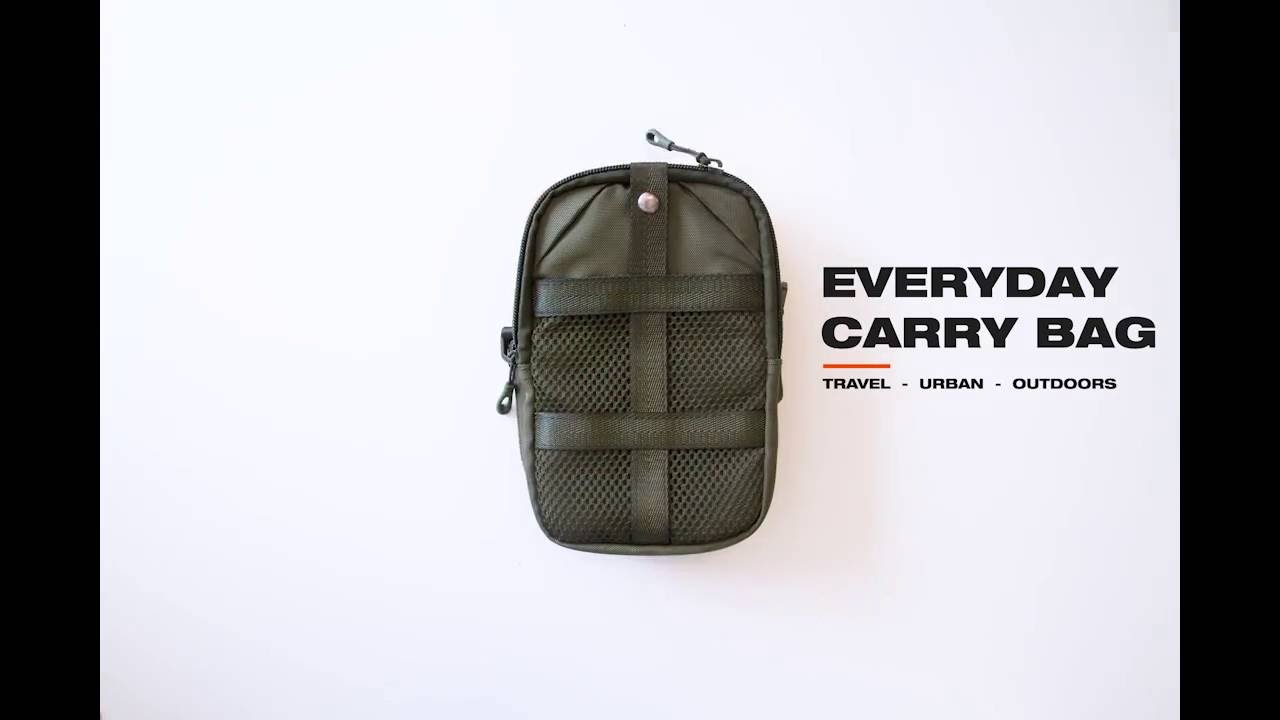214f5dc599f2 Connect Everyday Carry Bag - YouTube