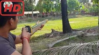 Как Сделать Лёгкий Перерабатывающий Пистолет Для Рыбалки В Камбодже - Рыбалка С Пистолетом - Традиц