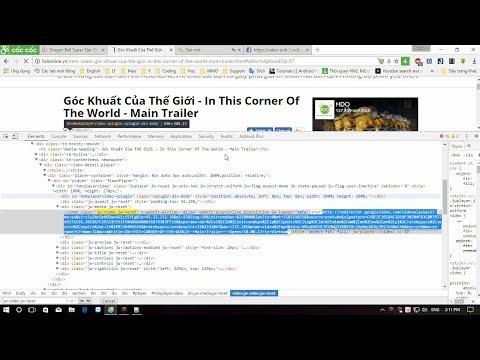 Cách Tải (Download) Video JWPlayer Cực Kỳ Đơn Giản