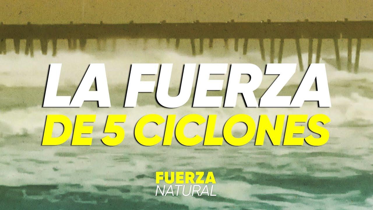 La FUERZA de 5 CICLONES TROPICALES en el Atlántico - #FuerzaNatural