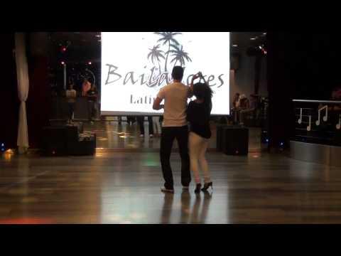 Presentacion de profesores 2012 de la Escuela Pasos de Baile en Sesion Bailadores. Salon y Latinos