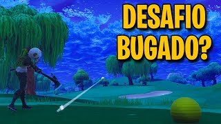 BUGADO GOLF CHALLENGE-HOW TO COMPLETE-Fortnite Battle Royale