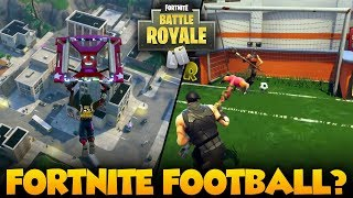 NEW FOOTBALL GAME MODE? & NEW CITY PATCH NOTES: Fortnite Battle Royale Map Update Patch Notes