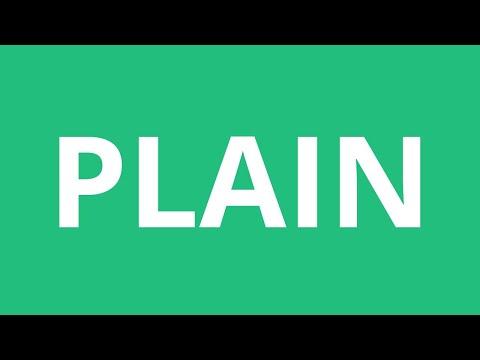 plain!!!!