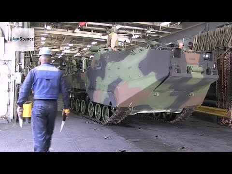 USS Pearl Harbor - Assault Amphibious Vehicle Operations
