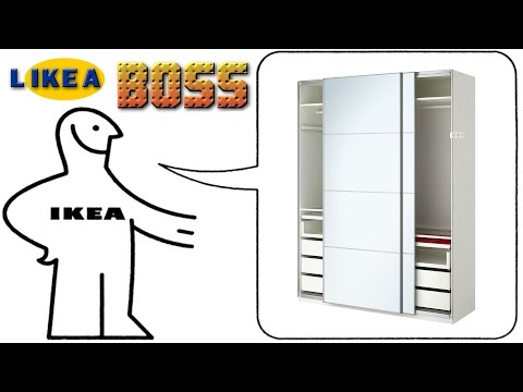 How we built our IKEA PAX wardrobe system like a BOSS!!! timelapse