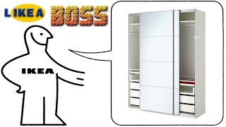 Repeat youtube video How we built our IKEA PAX wardrobe system like a BOSS!!! timelapse