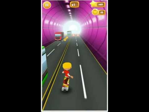 Crazy Kid Skater Android App