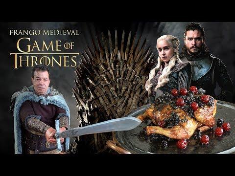 Frango Medieval Game of Thrones GOT I Churrasqueadas