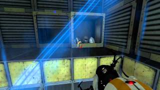 Portal 2 Co-op: Course 4, Chamber 8-9