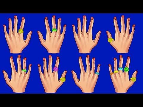 Что о Вас Говорят Кольца на Разных Пальцах